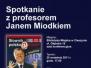Spotkanie z profesorem Janem Miodkiem