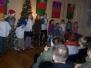 Występ bibliotecznej grupy Nasz Teatrzyk w przedstawieniu świątecznym (2011)