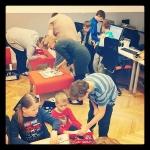 Zdjęcie przedstawiające kolejne spotkanie Cieszynskiego Klubu CoderDojo