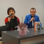 Halina Kunicka w cieszyńskiej bibliotece