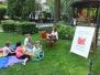 Kształty Czytania w parku Pokoju