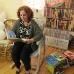 Zdjęcie wykonane podczas czytania w ramach akcji Rekord jak z bajki 2