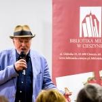 Spotkanie autorskie z Janem Nowickim