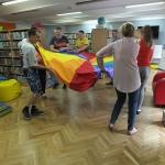 Zajęcia grupy biblioterapeutycznej