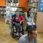 Zajęcia  biblioterapeutyczne z wychowankami OREW