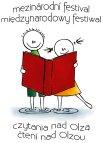 Logo Międzynarodowego Festiwalu Czytania nad Olzą