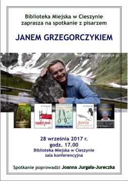 Plakat Grzegorczyk