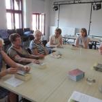 Zdjęcie zrobione w trakcie spotkania Dyskusyjego Klubu Książki